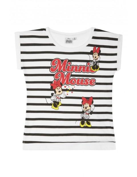Bawełniany t-shirt dla dziewczynki Minnie