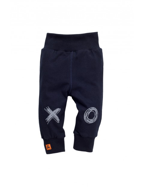 Spodnie niemowlęce dresowe 5M35AP