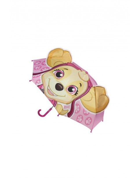 Parasol 3D Psi Patrol- różowy