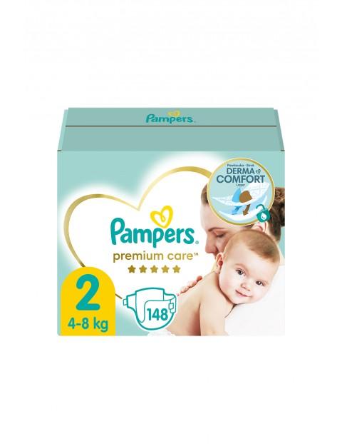 Pampers Premium Care, rozmiar 2, 148 pieluszek 4-8kg