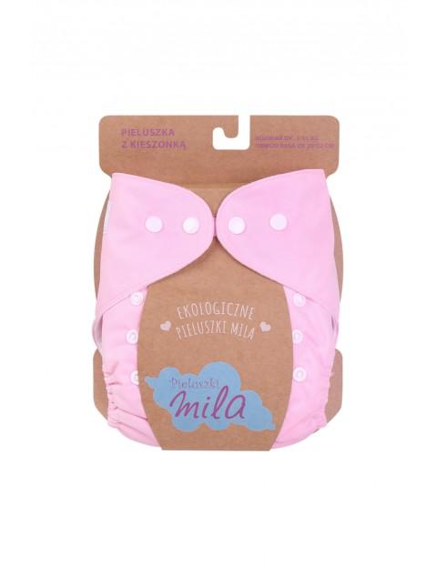 Pieluszka z kieszonką Mila- różowa 3-15kg