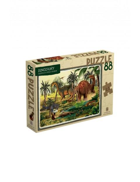 Puzzle Dinozaury 88el