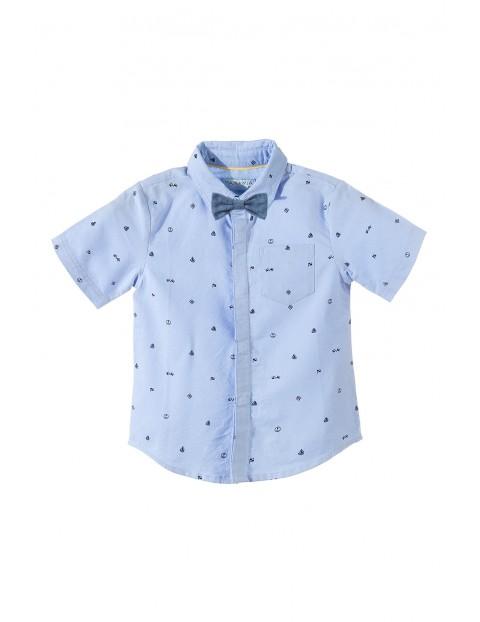 Koszula chłopięca z muszką 1J3407
