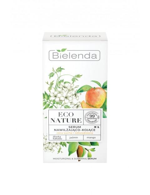 ECO NATURE - Śliwka kakadu + Jaśmin + Mango - serum nawilżająco-kojące 30 ml