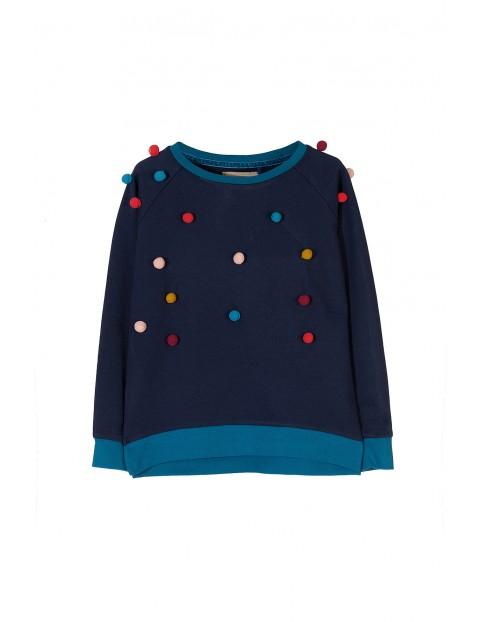Bluza dresowa dziewczęca 4F3106