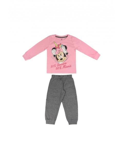 Piżama dziecięca Minnie Mouse  - różowa