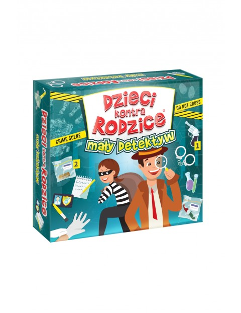 Gra Mały detektyw - Dzieci kontra rodzice wiek 7+