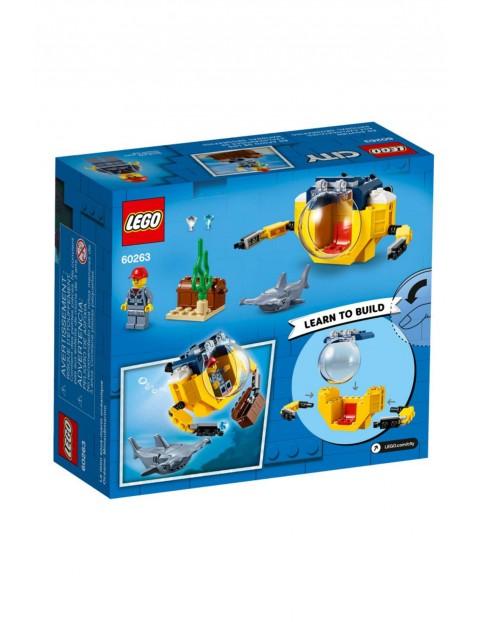 Lego City - Oceaniczna miniłódź podwodna - 41 el wiek 4+