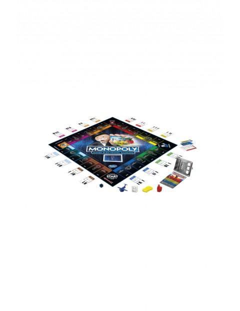 Gra Monopoly Super Electronic Banking wiek 8+