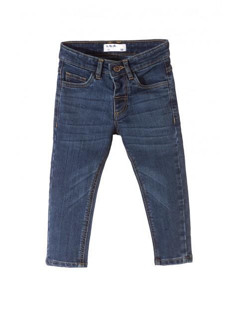 Spodnie chłopięce jeansowe 1L3507