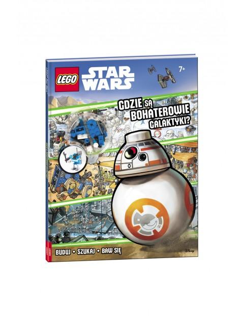 Książeczka Lego Star Wars. Gdzie są bohaterowie galaktyki?