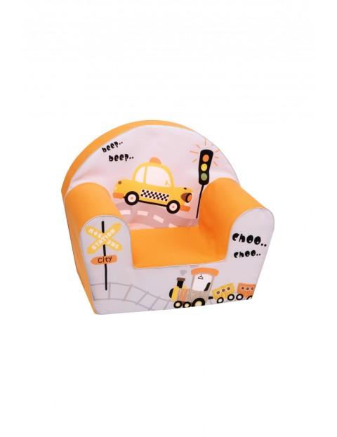 Fotelik piankowy dla dziecka- Samochód 1-5lat