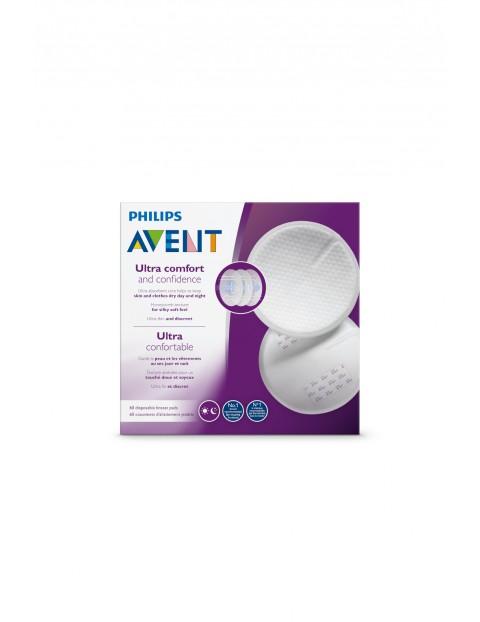 Jednorazowe wkładki laktacyjne Avent  60szt- białe
