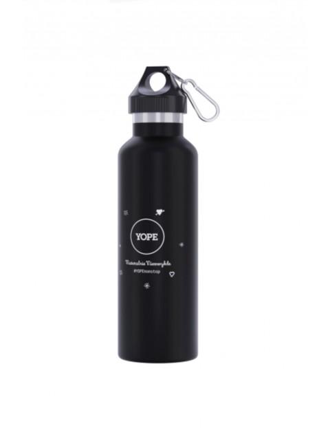 Butelka termiczna  - czarna