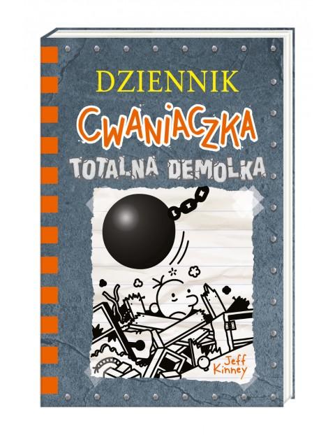 """Książka """"Dziennik cwaniaczka 14. Totalna demolka"""""""