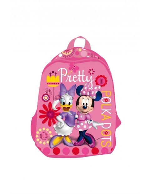 Plecak dla dziewczynki Myszka Minnie-różowy