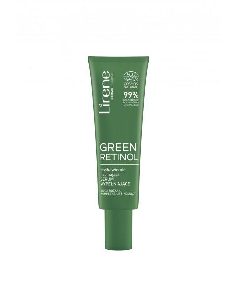 Lirene Green Retinol Błyskawicznie napinające serum wypełniające Lirene 30 ml