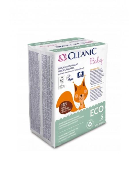 Podkłady Cleanic Baby ECO  5 szt. (60x60cm)