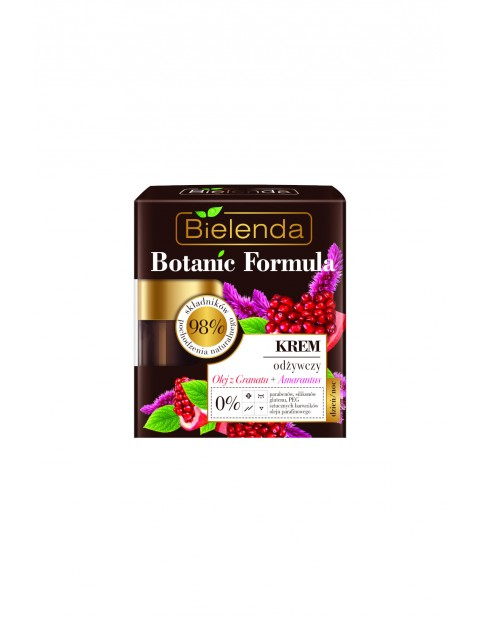 BOTANIC FORMULA Olej z Granatu + Amarantus Krem odżywczy dzień/ noc Bielenda - 50 ml