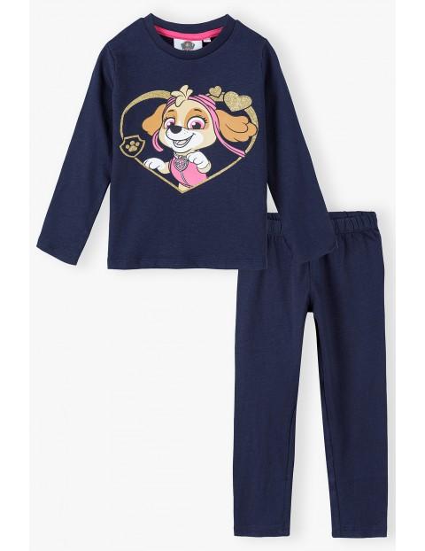 Piżama dziewczęca bawełniana Paw Patrol
