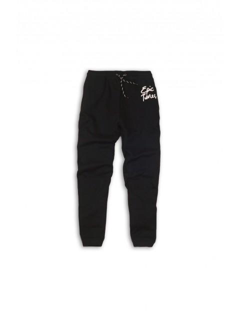 Spodnie chłopięce dresowe 2M35AG