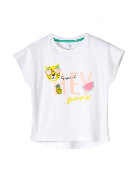 T-shirt dziewczęcy 4I3455