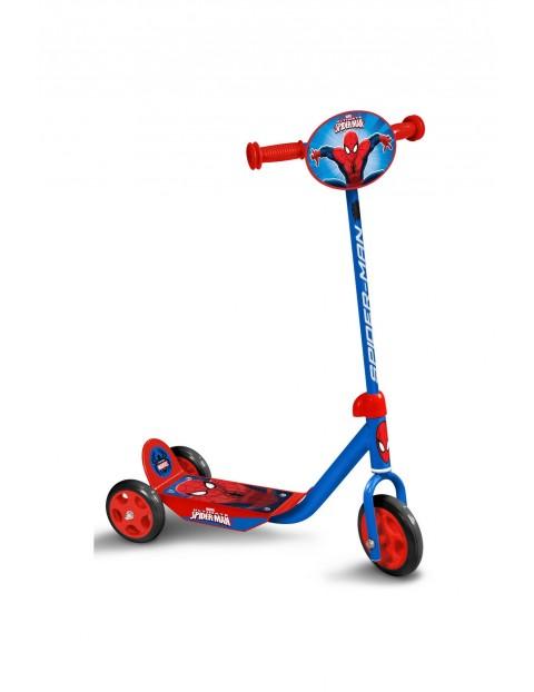 Hulajnoga 3 kołowa Spiderman- niebieska