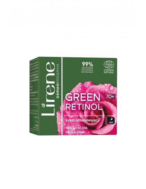 Lirene Green Retinol 70+   Krem odbudowujący na noc 50 ml