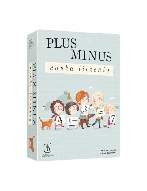Gra edukacyjna- Plus minus. Nauka liczenia wiek 7+