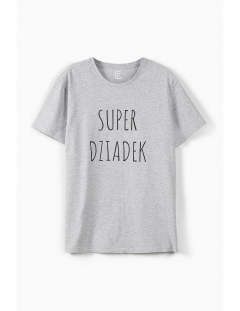 T-shirt męski Super Dziadek