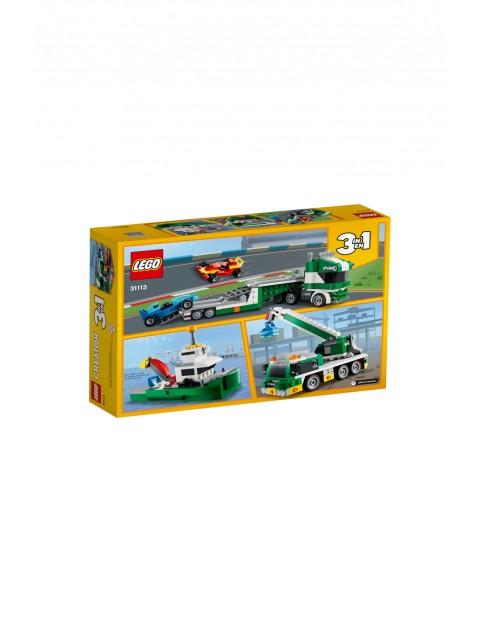 LEGO Creator - Laweta z wyścigówkami - 328 elementów