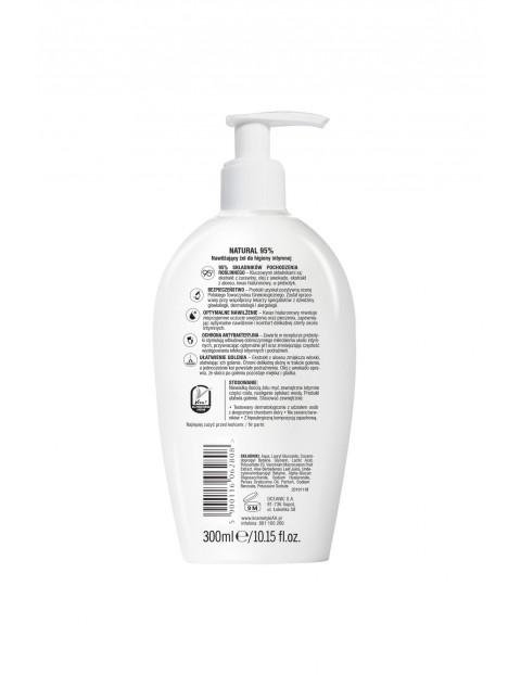 AA Intymna Ochrona&Pielęgnacja NATURAL 95% żel nawilżający do higieny intymnej 300 ml