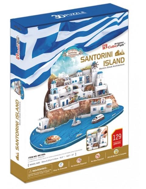 PUZZLE 3D Santorini duży zestaw