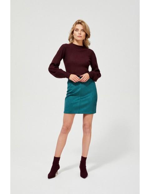 Zielona spódnica damska ołówkowa