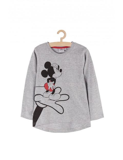 Bluzka chłopięca szara Myszka Mickey