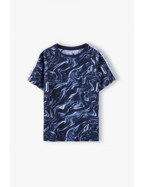 Bawełniany t-shirt chłopięcy