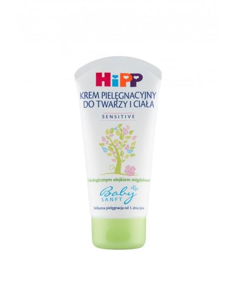 HiPP Babysanft Sensitive Krem pielęgnacyjny do twarzy i ciała od 1 dnia życia - 75 ml