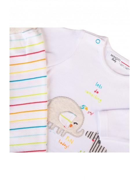 Komplet niemowlęcy bawełniany 2-częściowy