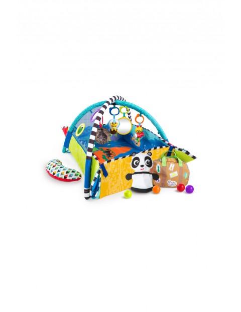 Mata edukacyjna- plac zabaw z piłeczkami