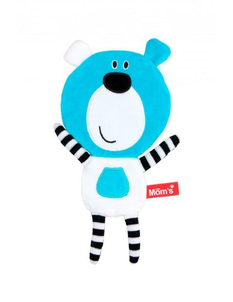 Szeleścik Misio Boo- niebieski