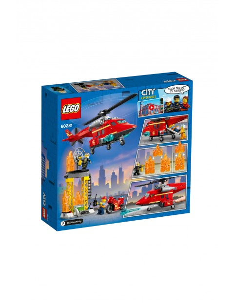 LEGO City - Strażacki helikopter ratunkowy - 212 el