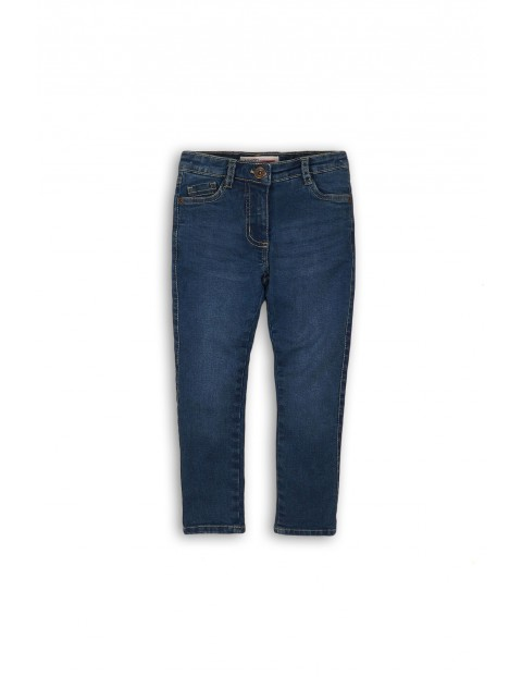Spodnie dziewczęce jeansowe