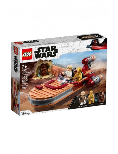 Lego Star Wars 75271 - Śmigacz Luke'a Skywalkera - 236 elementów wiek 7+