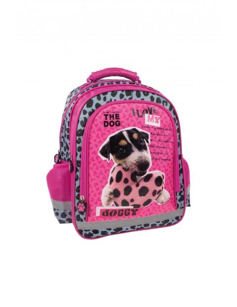 Dwukomorowy plecak do szkoły 3Y35AU