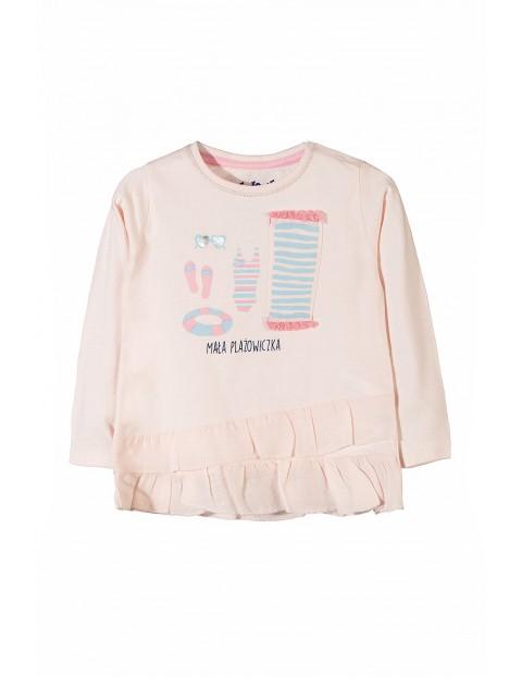 Bluzka niemowlęca długi rękaw 5H3418