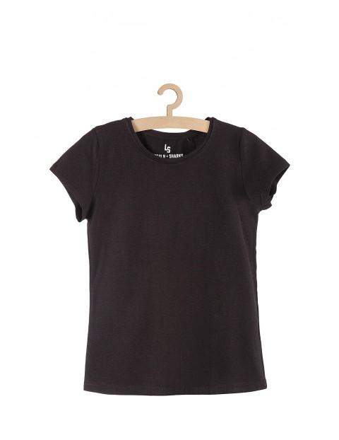 Czarny t-shirt dla dziewczynki