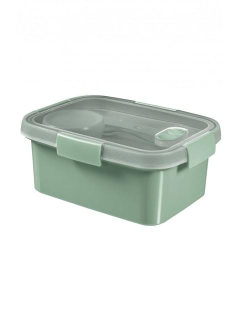Pojemnik na żywność prostokątny LUNCH KIT 20 x 15 x 90 cm - zielony