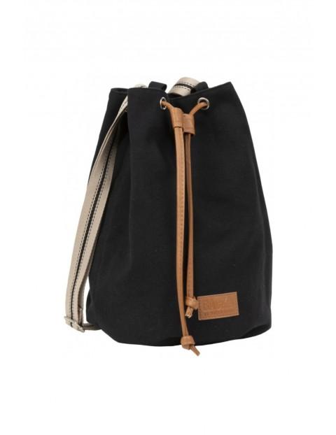 Plecak dziewczęcy- worek 2w1 czarny