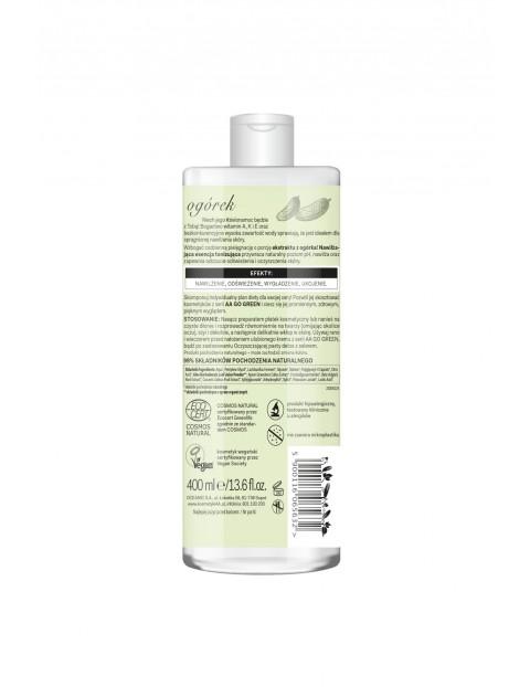 AA Go Green nawilżająca esencja tonizująca z ogórkiem NATURAL 400 ml