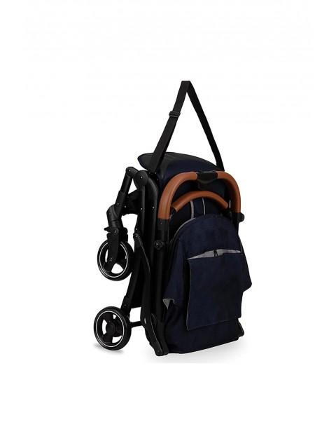 Lekki wózek spacerowy MoMi OFRA - granatowy 6msc+